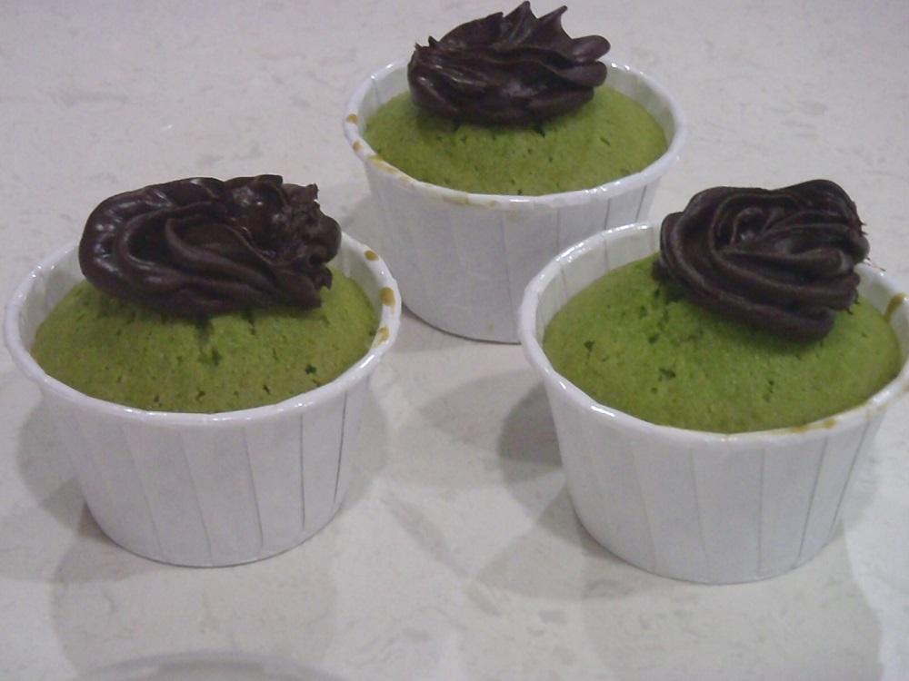 Pandan Cupcake