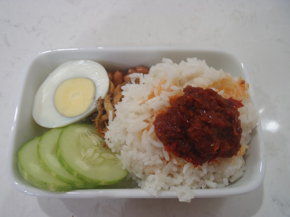 Hawker Food Nasi Lemak
