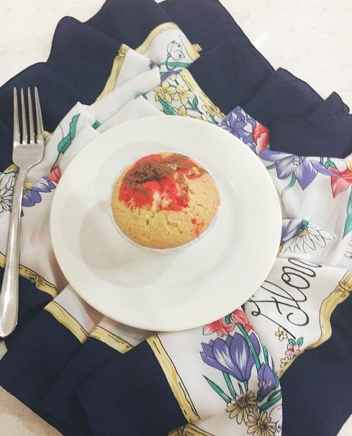 Milo marble cupcake