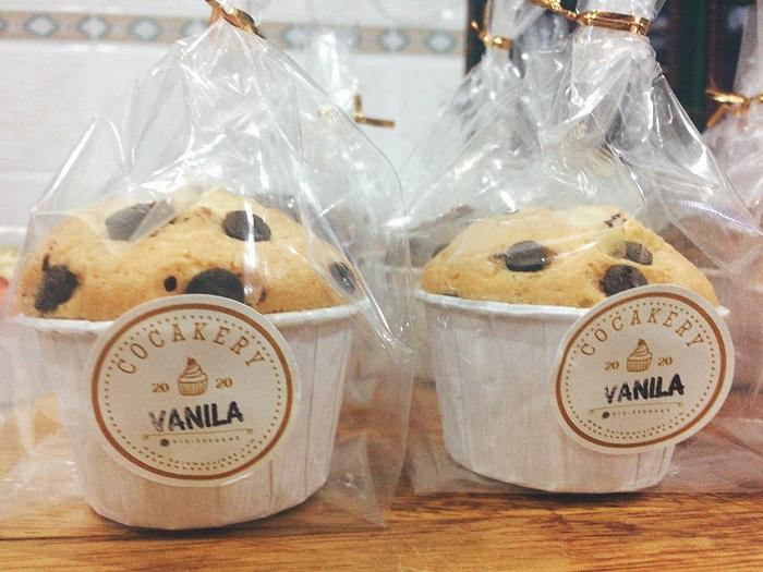 Cupcake COCAKERY yang simple