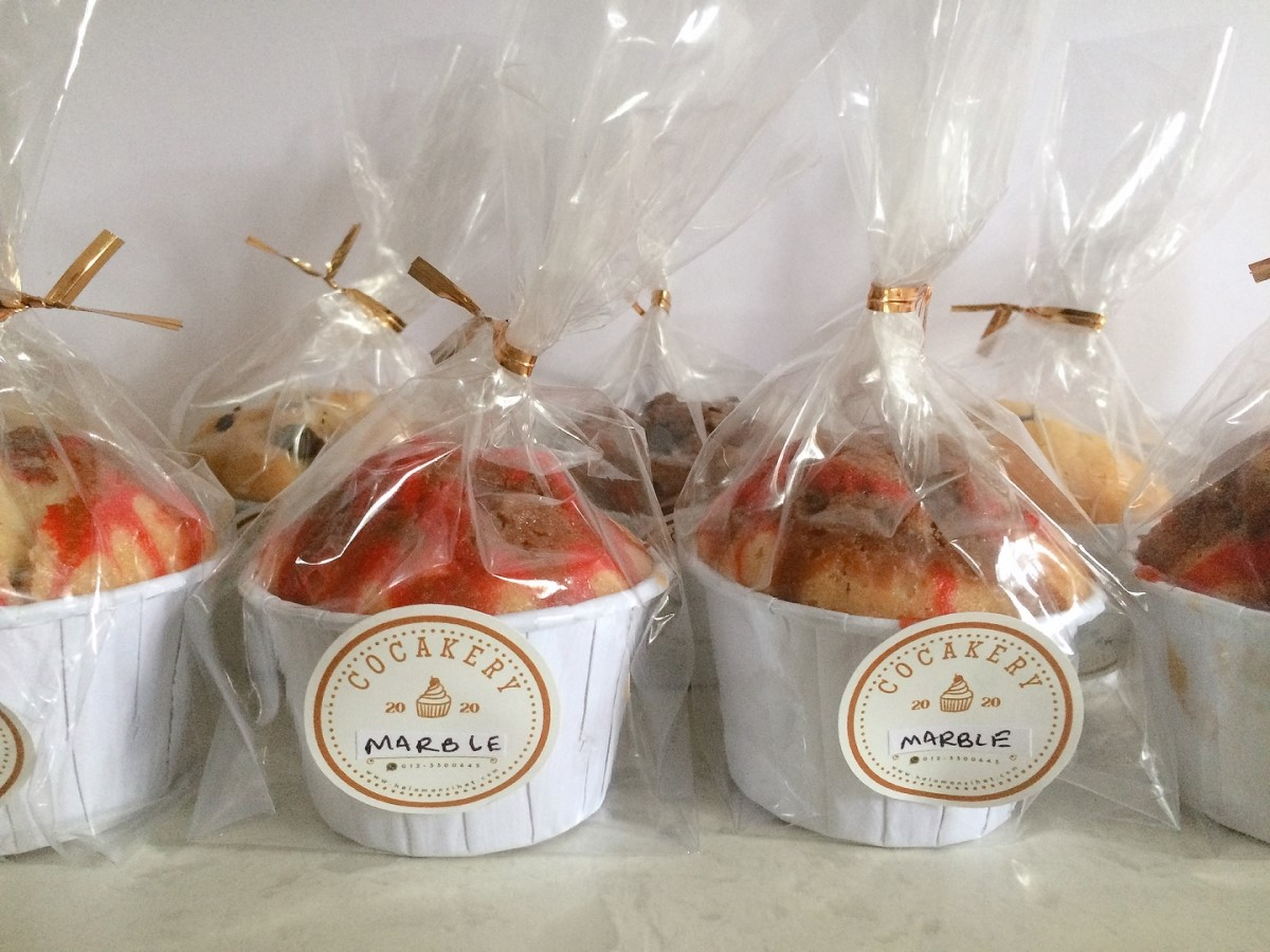 Packaging for cupcakes COCAKERY in Selayang