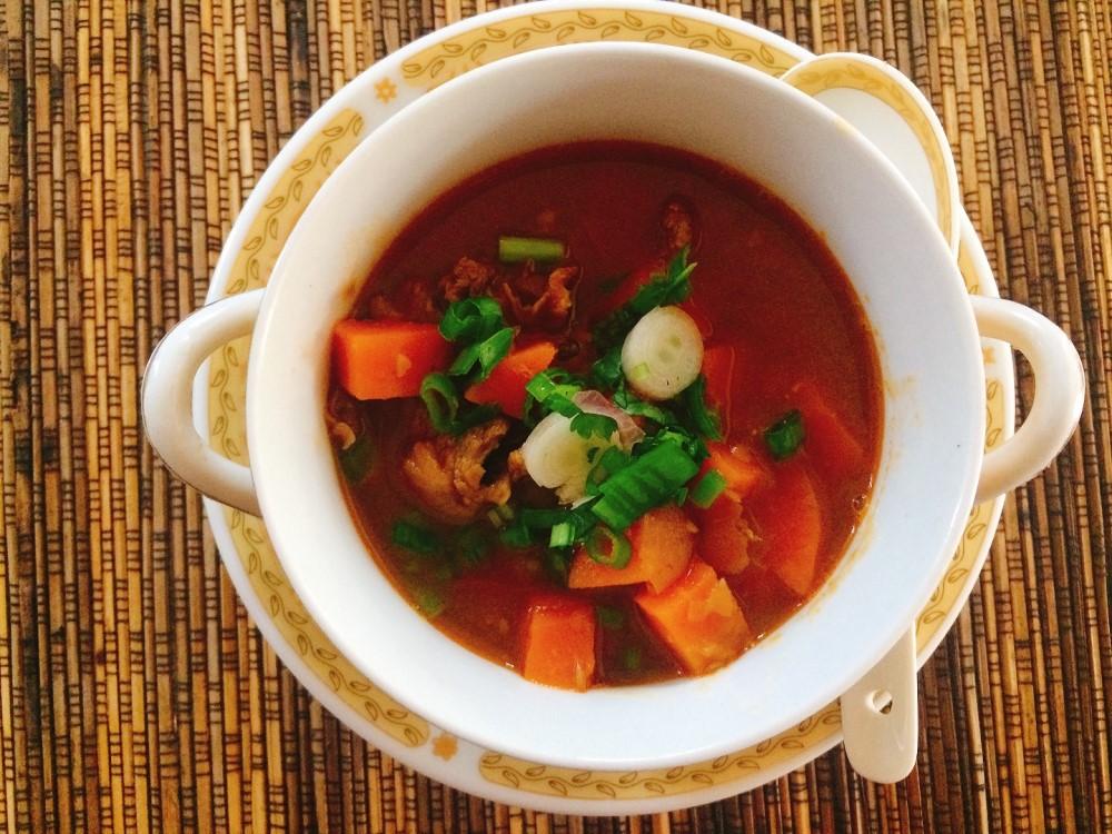 Turkish Beyran soup