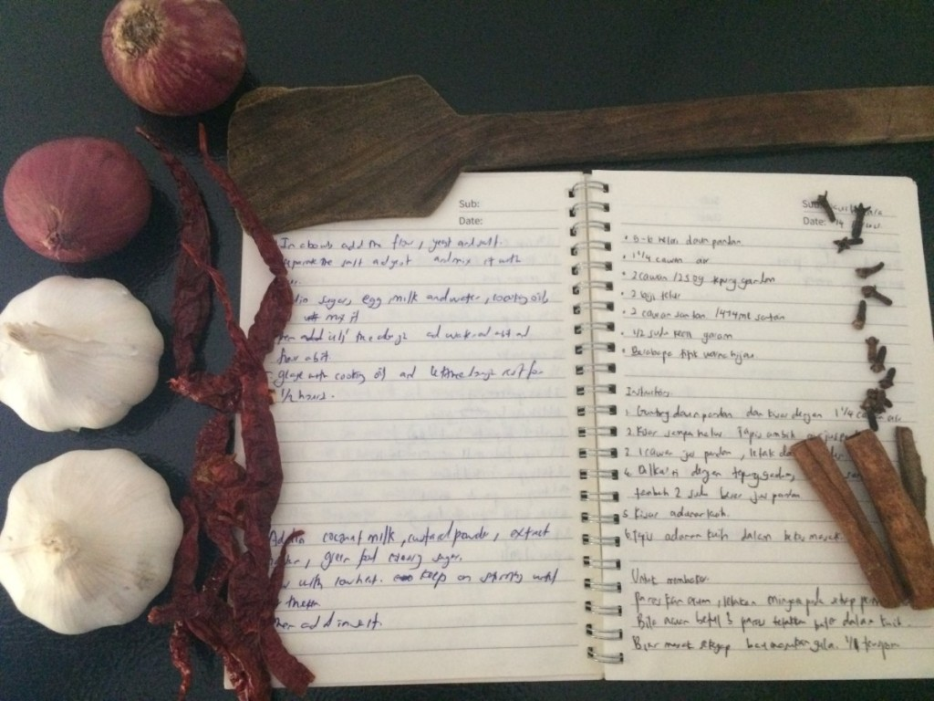 Lessons learned from learning recipe through Internet.