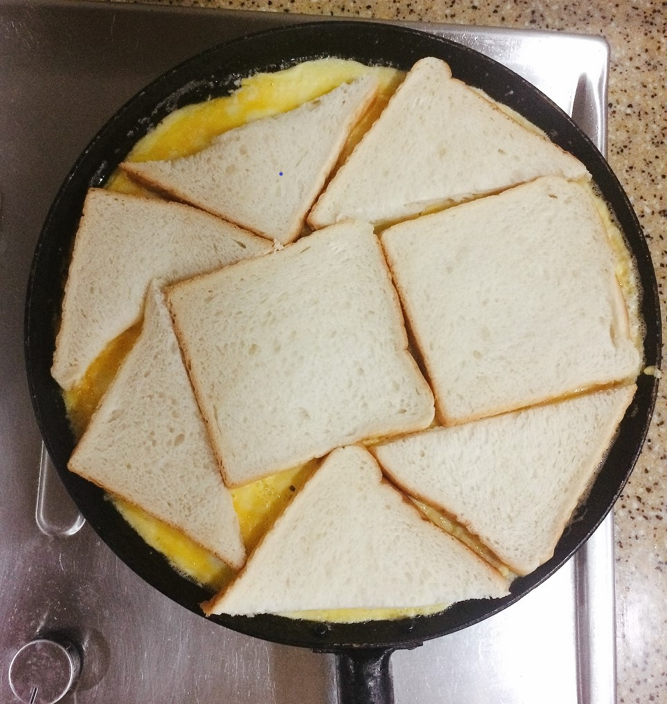 Pizza Crust Made From Bread