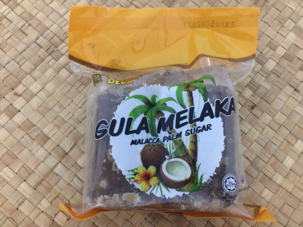 Gula Melaka as Palm Sugar